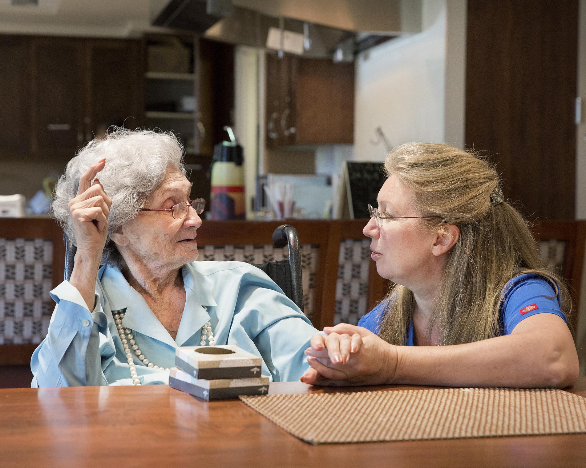 Traditional nursing home model