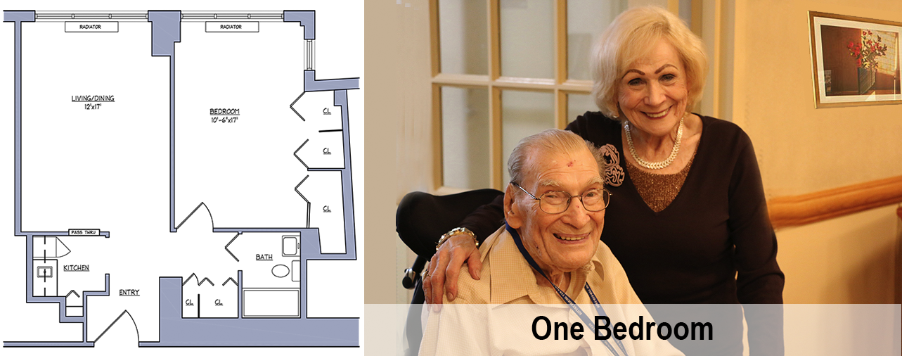 Kittay Senior Apartments - One Bedroom
