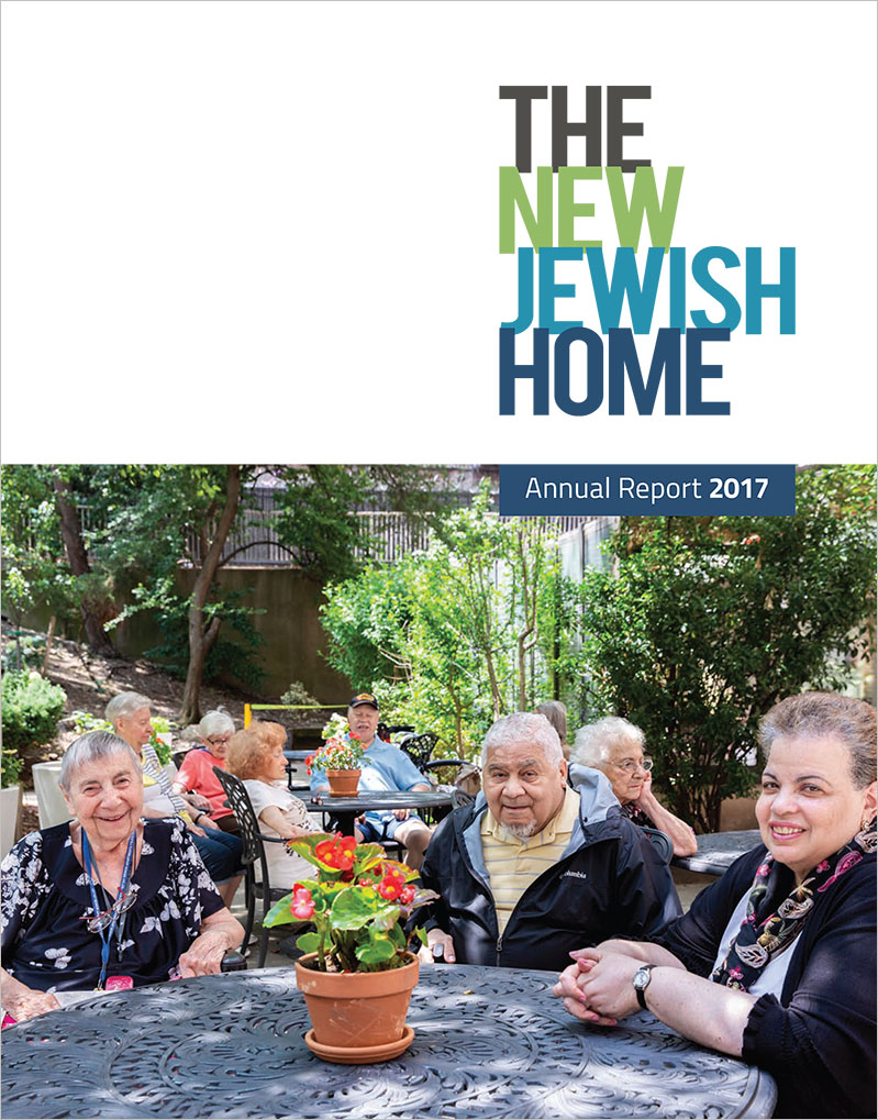 Cover image of The New Jewish Home annual report