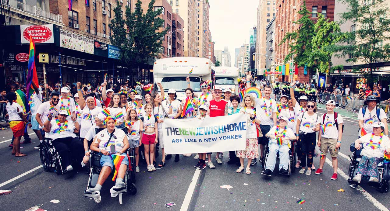 The New Jewish Home for the NYC Pride March