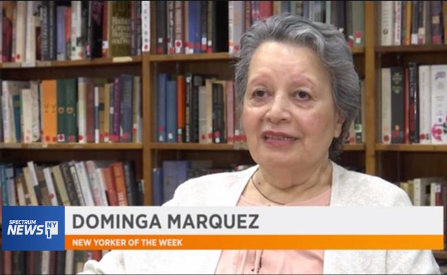 Dominga Marquez New Yorker of the Week