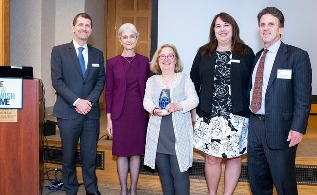Dr. Jeffrey I. Farber; Dr. Tia Powell; Ellen Lazarus; Sandra Mundy; and Michael Luskin