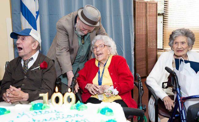 The New Jewish Home Centenarian Celebration