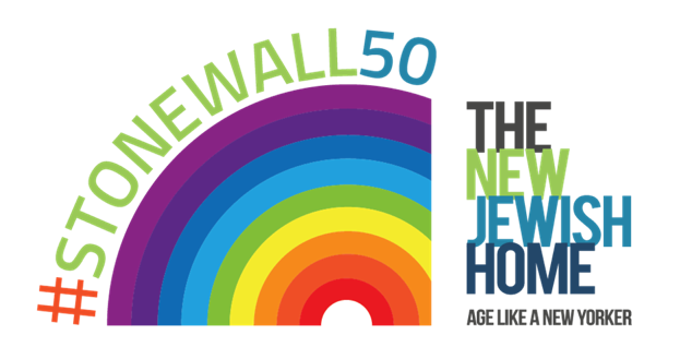 The New Jewish Home Logo LGBT+ Stonewall50