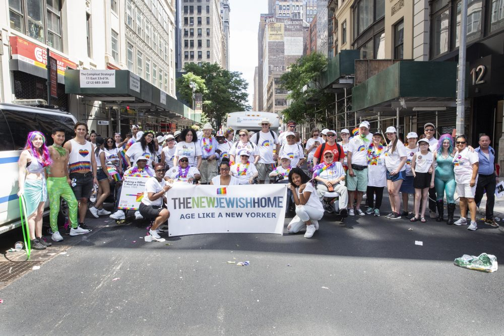 The New Jewish Home 2019 NYC Pride March