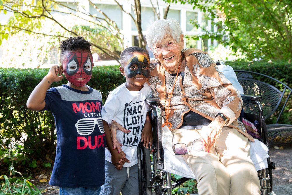 The New Jewish Home Sarah Neuman of Westchester celebrates Grandparent's Day