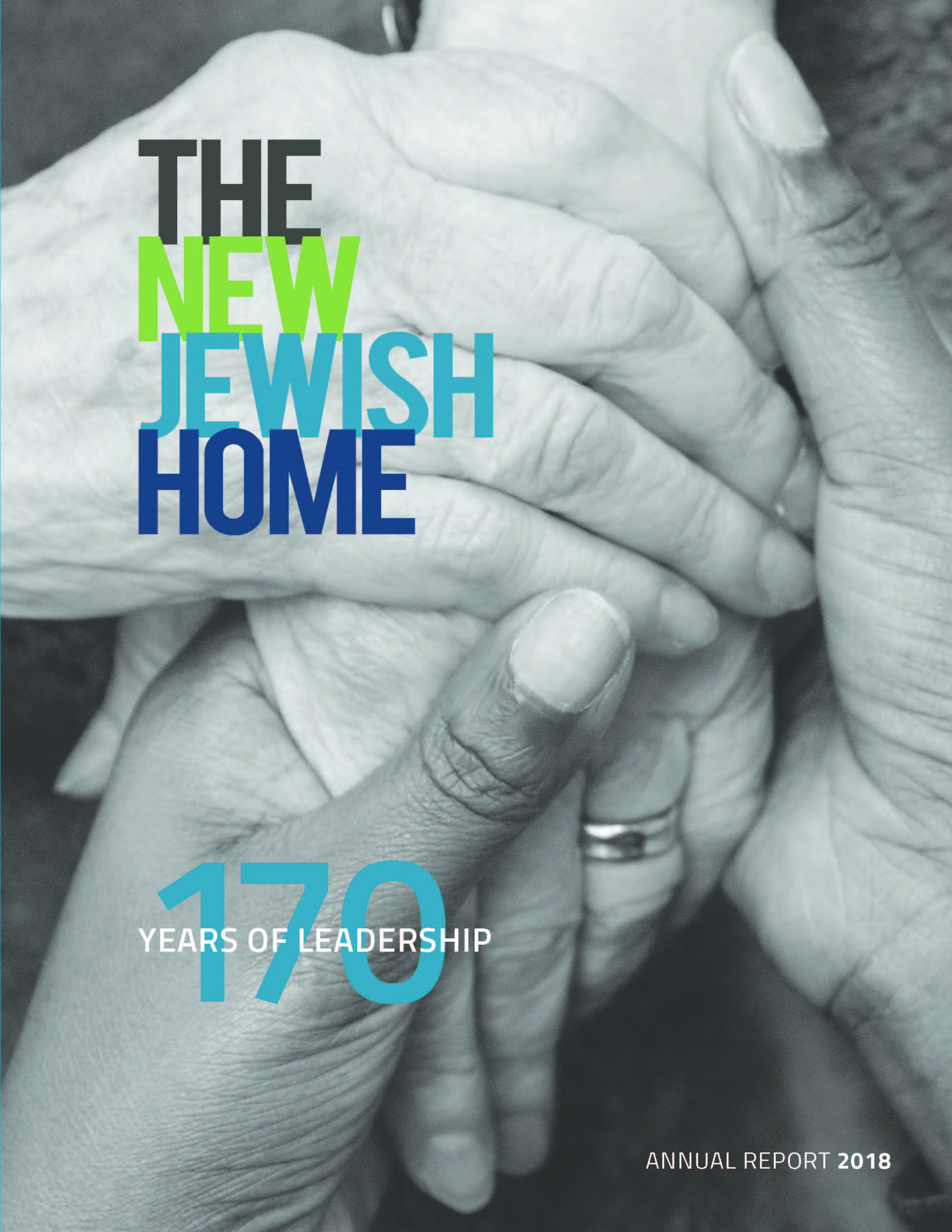 Cover of The New Jewish Home 2018 annual report