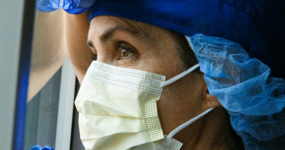 female mature health care worker