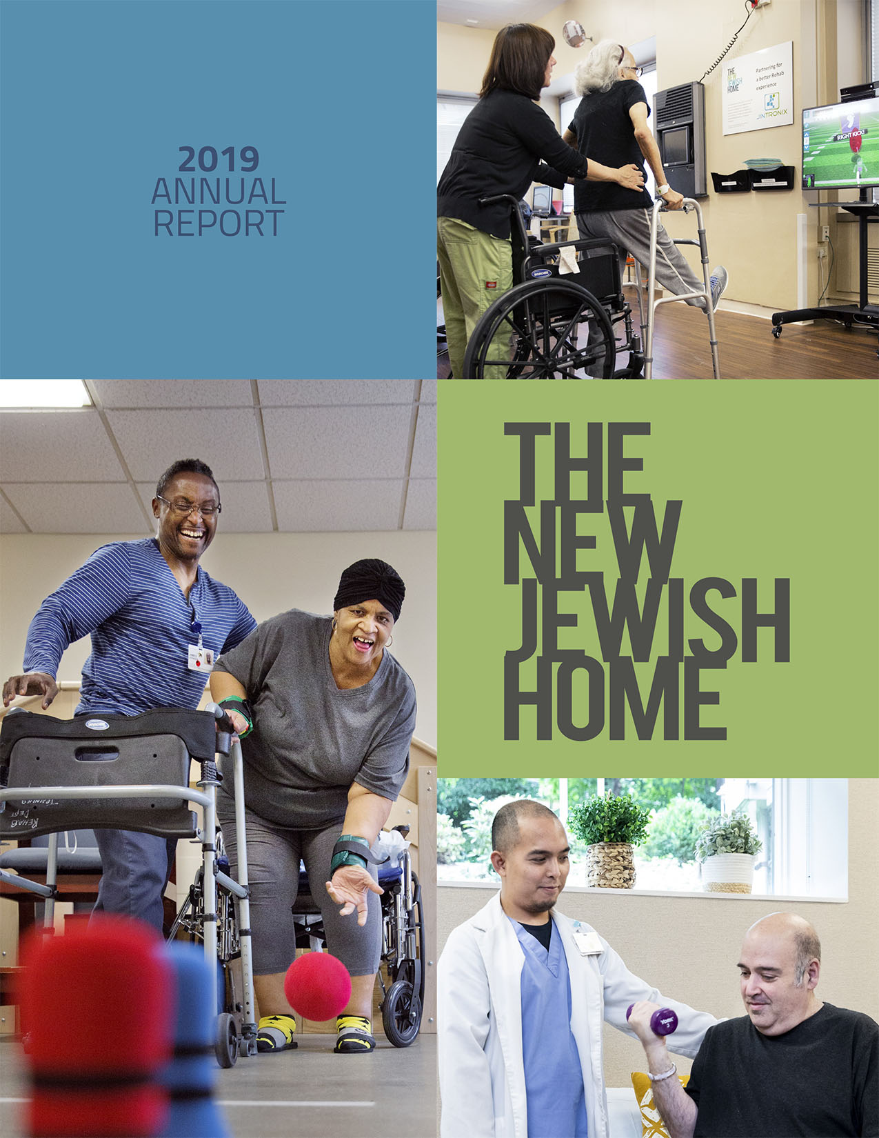 Image of the cover of New Jewish Home 2019 Annual Report